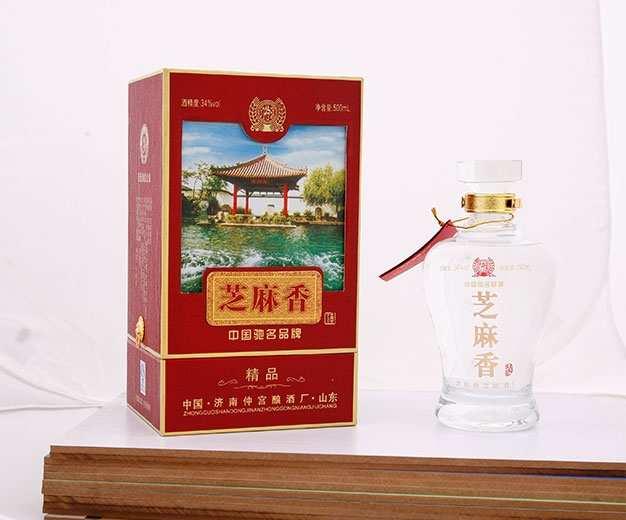 济南趵特源浆34度芝麻香型白酒